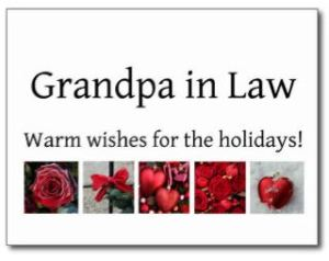 Grandpa in Law credit zazzle dot com dot au