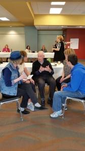 Jerry Witkovsky with NSCI Teachers