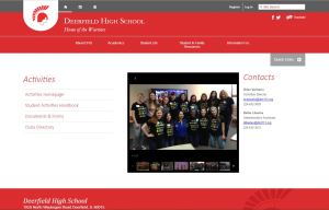 deerfield-high-school-activities-page